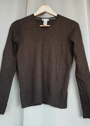 Пуловер 100% шерсть