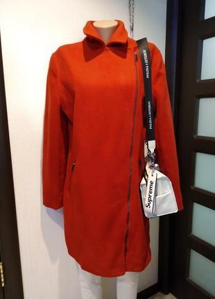 Крутое стильное брендовое теплое пальто новое