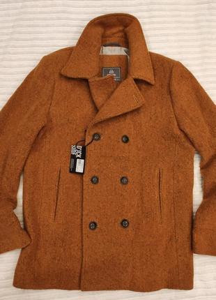 Пальто-куртка duckside (вси свои) р. м. новое, охра, шерсть
