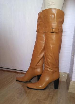 Сапоги женские осенние sergio rossi ботфорты