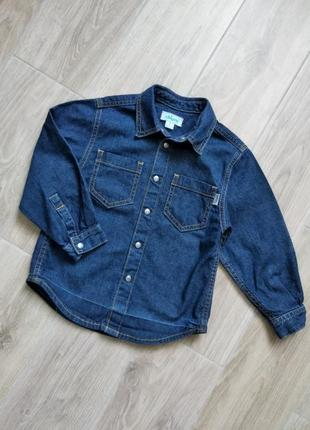 Chicco джинсовая рубашка