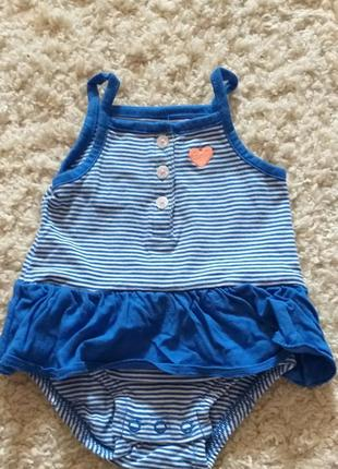 Комплект боди и платье-трусики 3мес.3 фото