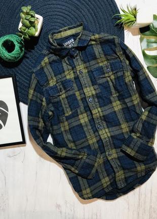 Теплая байковая рубашка next 4 года (104)