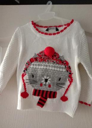 Красивый свитер с люрексом