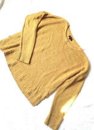 Горчичный свитер 🔥 хит осени🔥 l xl