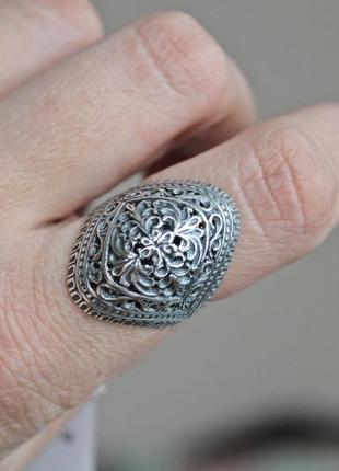 Серебряное кольцо хартов 1307 р.18,5