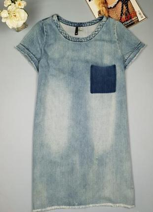 Джинсовое платье прямого кроя h&m