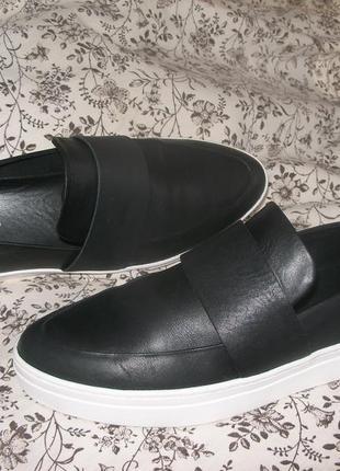 Vagabond (clarks) кожаные слипоны(лоферы,слиперы), 27 см, р. eur 41