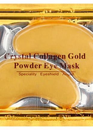 Патчи под глаза crystal collagen gold