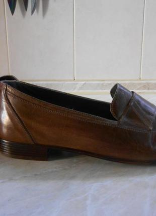 Туфли, лоферы мужские, salamander кожа