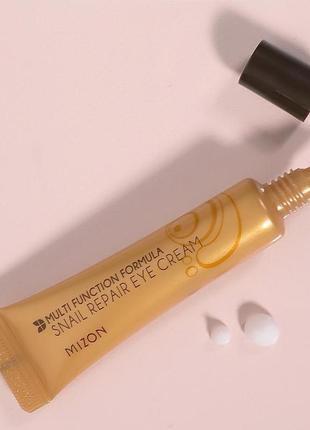 Крем с улиточным экстрактом и egf для кожи вокруг глаз  mizon