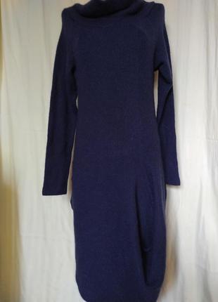 Дизайнерские платье 💯%шерсть euphoria str.