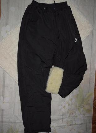 Мужские зимние штаны на искусственном меху