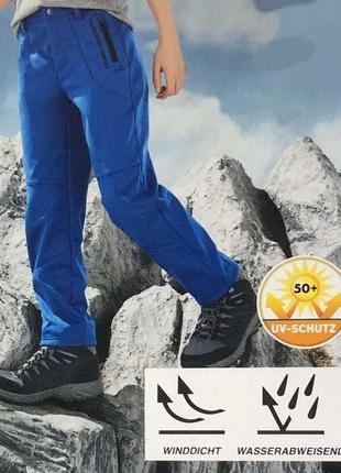 Теплые термо софтшел штаны на флисе.crivit/германия.122-128
