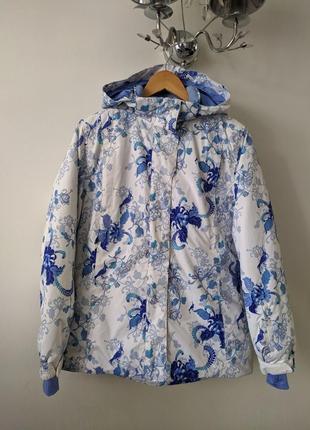 Зимняя теплая куртка для лыж или сноуборда glissade