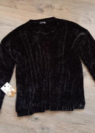 Плюшевый свитер оверсайз. плюшевий светр. кофта