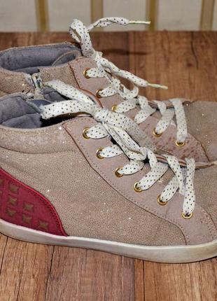 Демисезонные ботинки b&g для девочки 35 р-р 22, 5см
