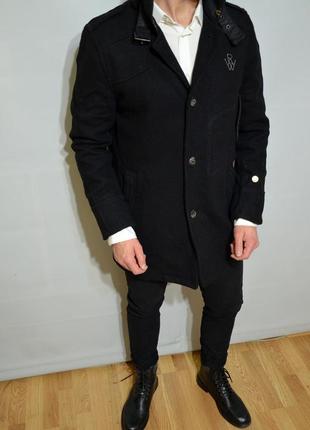 G-star raw, пальто мужское  стильное,  оригинал  фирменное  стильное шерстяное