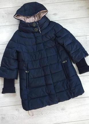Очень теплый пуховик/ зима/ высокого качества/ brand