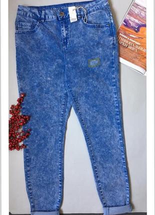 Облегающие джинсы «варенки» с биркой