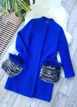 Невероятно красивое шерстяное пальто букле😍🤩😍