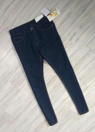 Новые с бирками мужские джинсы тёмно синего цвета, s размера. привезены с польши.