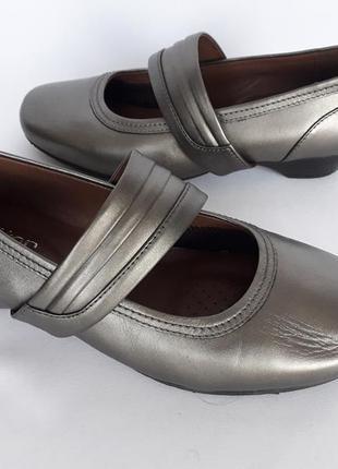 Шикарные серебристые туфельки
