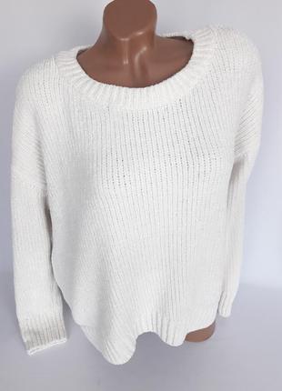 Тепленький плюшевый свитерок