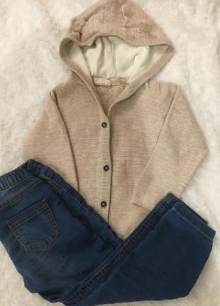 Комплект джинсы и кофта 2-3 года