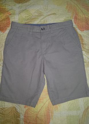 Мужские стильные хлопковые шорты чинос пот-42,5 см