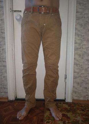 Крутые мужские джинсы брюки карго пот-44 см