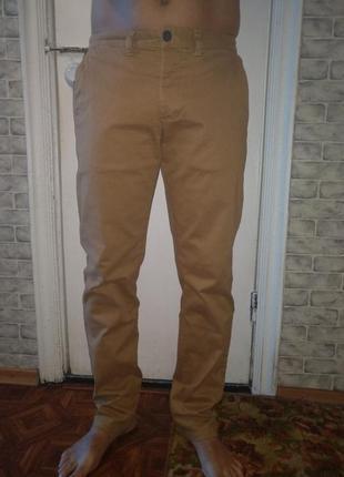Крутые мужские брюки чинос 48 размер пот-43 см