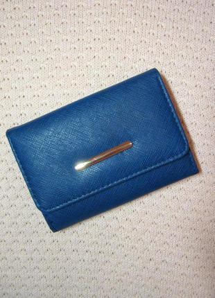 Новый кошелек джинсового цвета