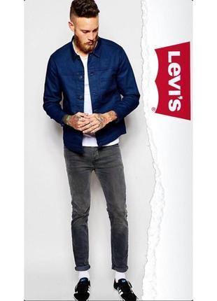 Крутая джинсовка с пропиткой от levi's