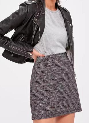 Юбка трикотажная юбка мини