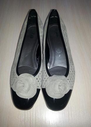 Кожаные туфли, балетки ara оригинал