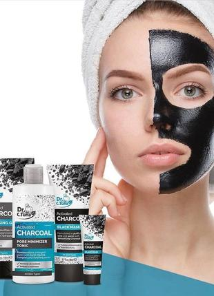 Черная маска для лица black mask dr.tuna