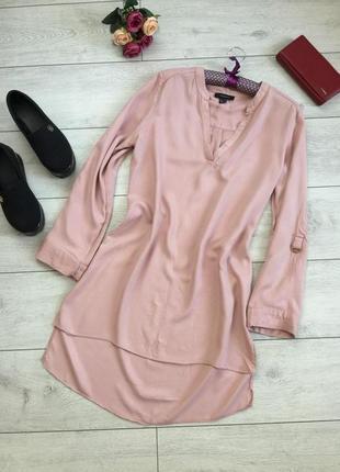 Распродажа!!!стильное платье/туника в нежно пудровом цвете/приятная телу/atmosphere