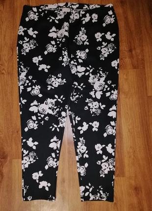 🌺🎀🌺стильные, красивые женские лосины, штаны, зауженные брюки 22 размера definitions🔥🔥🔥