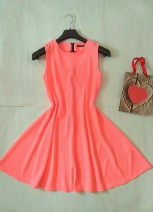Яркое платье m-l