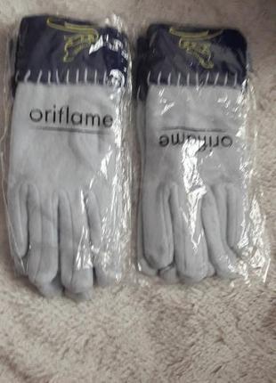 Флисовые перчатки oriflame