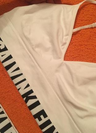 Белоснежный набор, костюм calvin klein