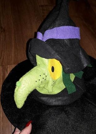 🔥🔥🔥шляпа, колпак ведьмы на хеллоуин, halloween tesco🔥🔥🔥