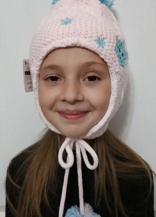 Зимняя теплая шапочка 44-50. польша.