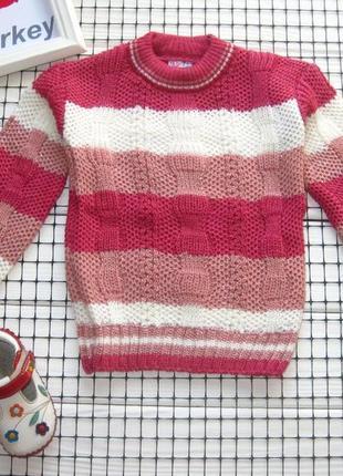 ✔ свитер с люрексом для девочки