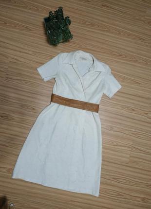 Стильнле платье лен california
