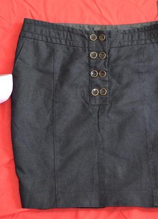 Next юбка лен , 12 размер