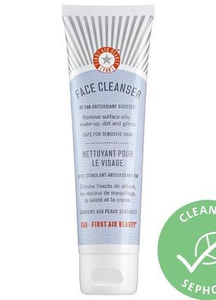 Гель для умывания first aid beauty face cleanser 28.3 г