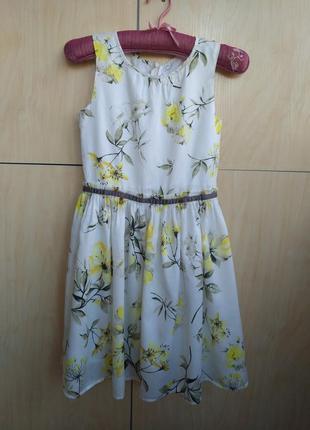 Платье next на 10 лет