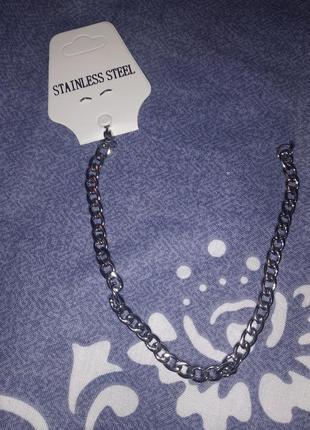 Мужской браслет нержавеющая сталь 316l 20 см